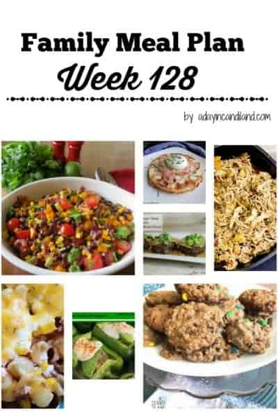 Easy Family Meal Plan 128