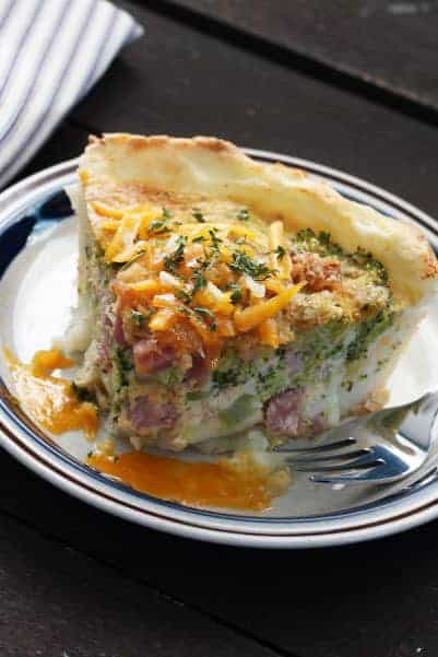 Meal plan 130 Potato Quiche