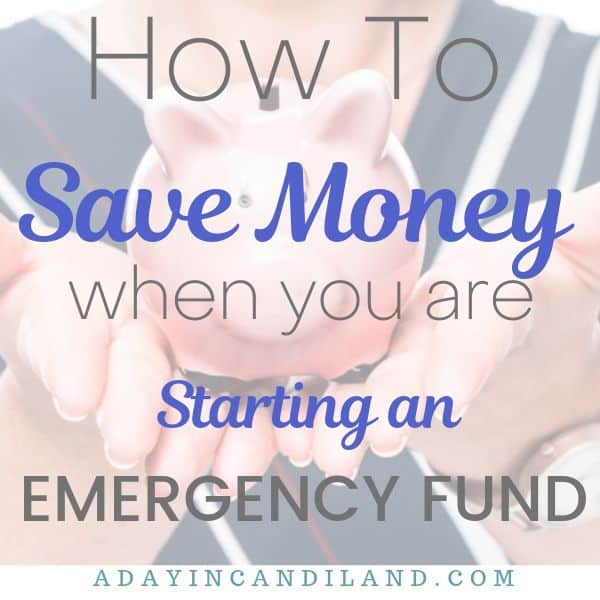 Save for Emergency Fund