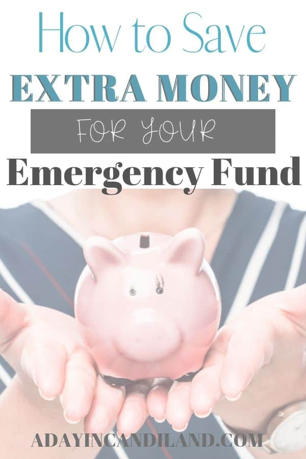 Save for your emergency fund