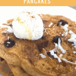 Gluten Free Pumpkin Chocolate Chip Pancakes
