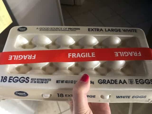 Fragile Eggs