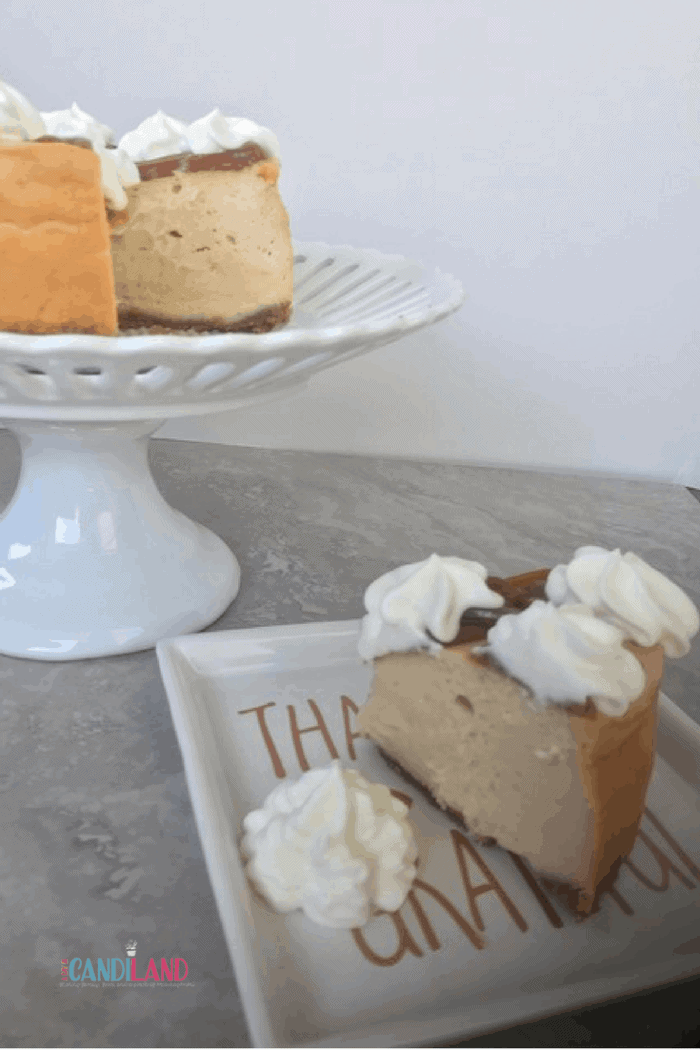 Easy Salted Caramel Cheesecake