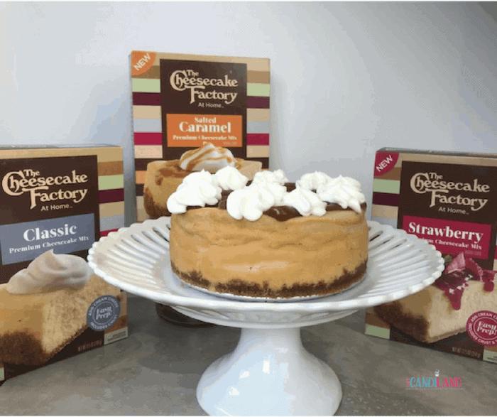 Three Cheesecake Factory box mixes