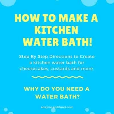 What is a Water Bath