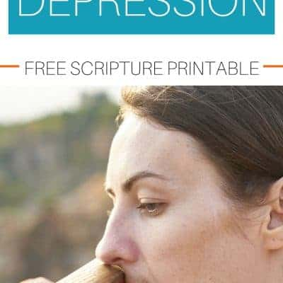 Living with Depression and Anxiety with Printable Scripture Cards