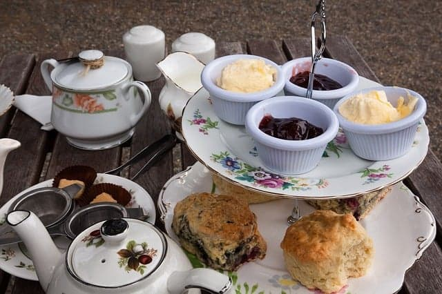 Ultimate Collection to Scones and Tea on platter
