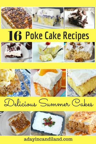 16 delicious summer poke cake recipes