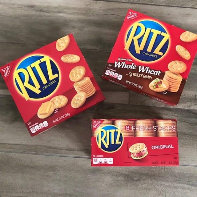 RITZ Crackers Ibotta