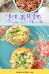 Keto Egg Muffins Pinterest Image