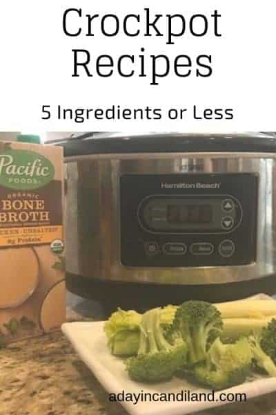Crockpot Recipes 5 Ingredients or Less