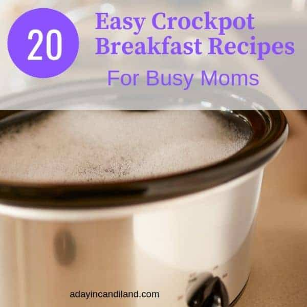 Easy crockpot breakfast dishes for busy moms
