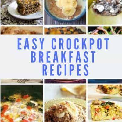 20 Easy Crockpot Breakfast Dishes