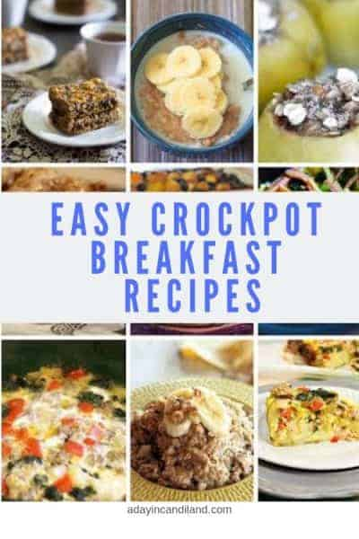 20 easy crockpot breakfast dishes for busy moms