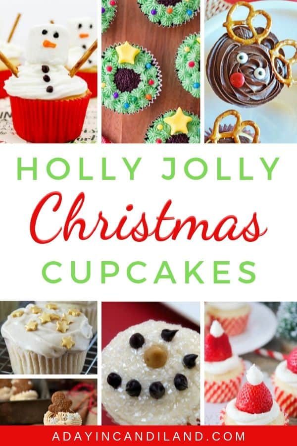 Christmas Cupcake Recipes 20 Jolly Holiday Cupcakes A Day In