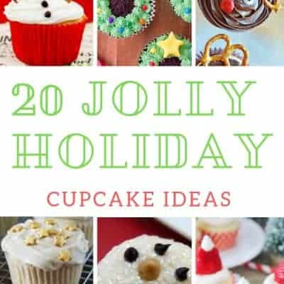 Christmas Cupcake Recipes: 20 Jolly Holiday Cupcakes