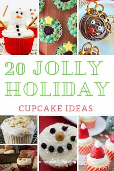 20 jolly holiday Cupcake Ideas