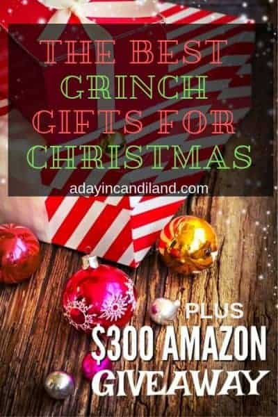 Best Grinch Gifts For Christmas plus Giveaway