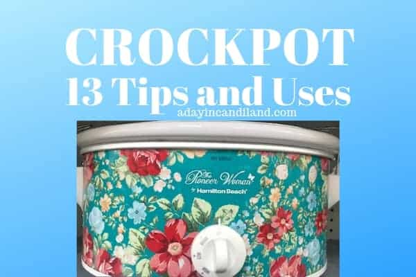 Crockpot Tips and Uses. Pioneer Women Crockpot