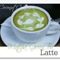 Coconut Cinnamon Matcha Green Tea Latte {Recipe Redux}