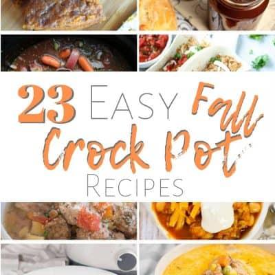 23 Easy Fall Crockpot Recipes