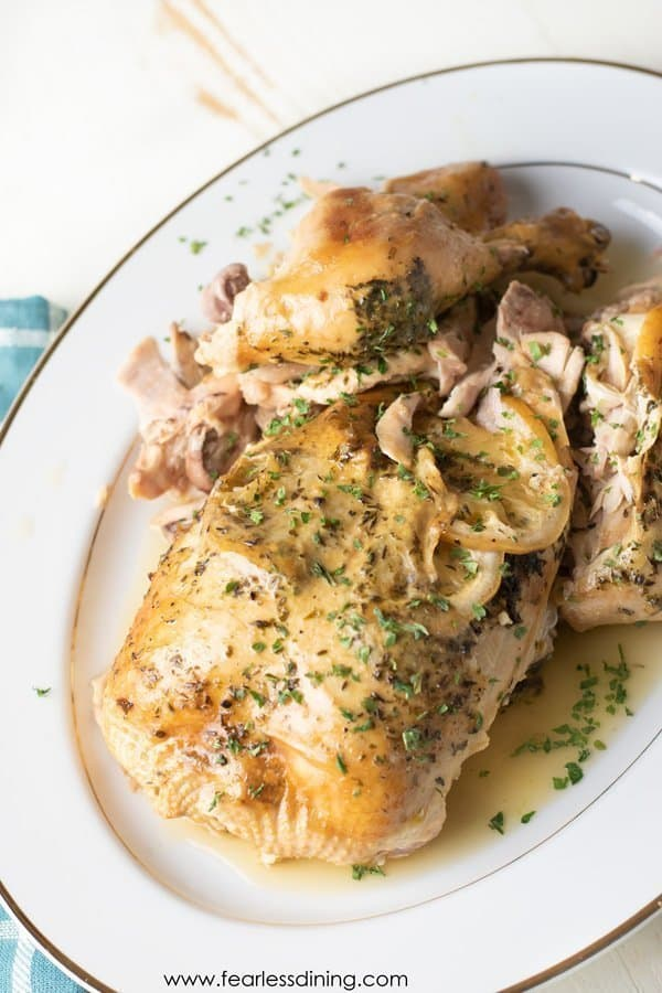 5 Ingredient Slow Cooker Chicken