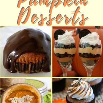 16 Easy Pumpkin Dessert Recipes