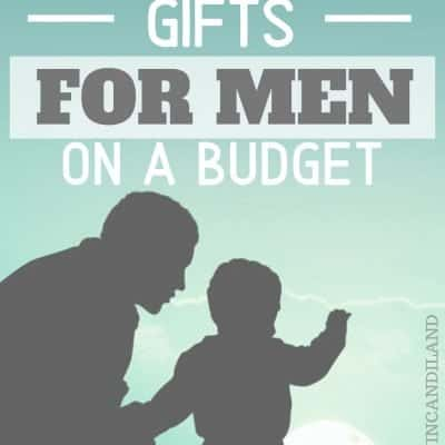 Thoughtful Gifts for Men:  Budget Friendly