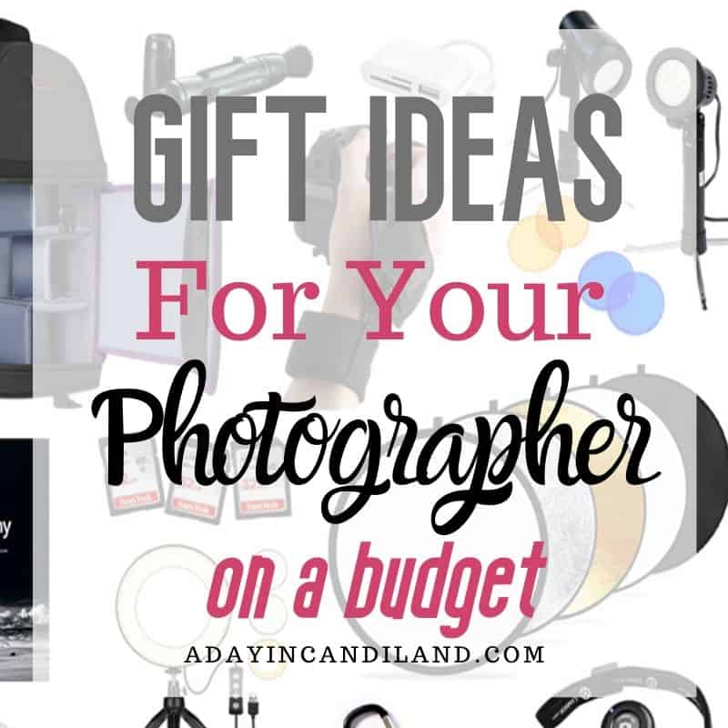 Gift ideas under $50 for the photographer.