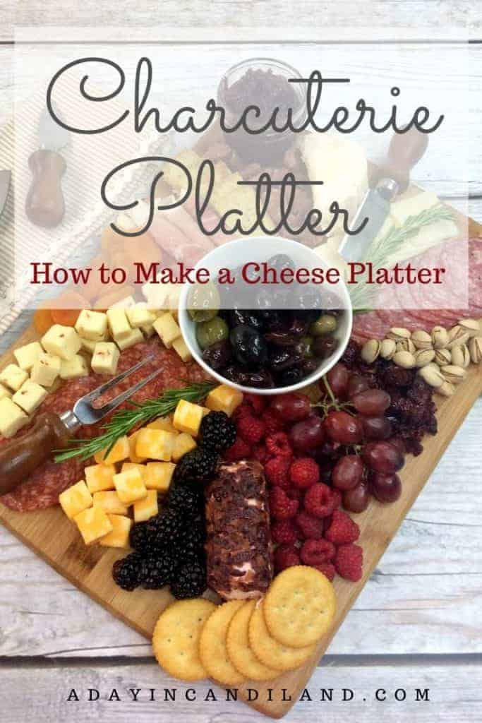 Fruit and Cheese Charcuterie Board