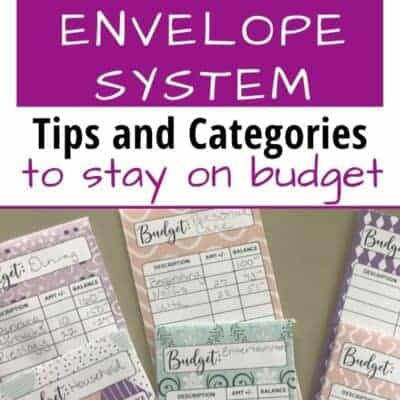 How To Use the Cash Envelope Budget Method