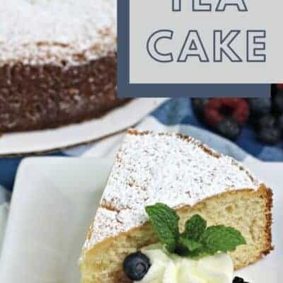 Easy Afternoon Tea Cake Recipe
