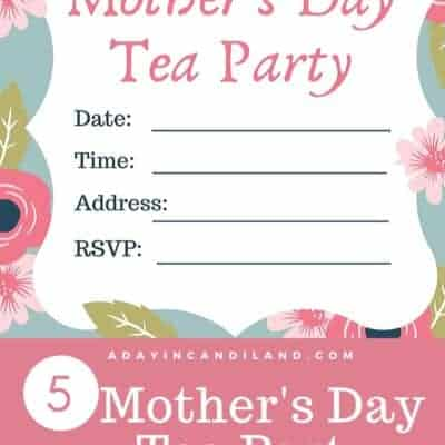 5 Easy Mother's Day Tea Ideas