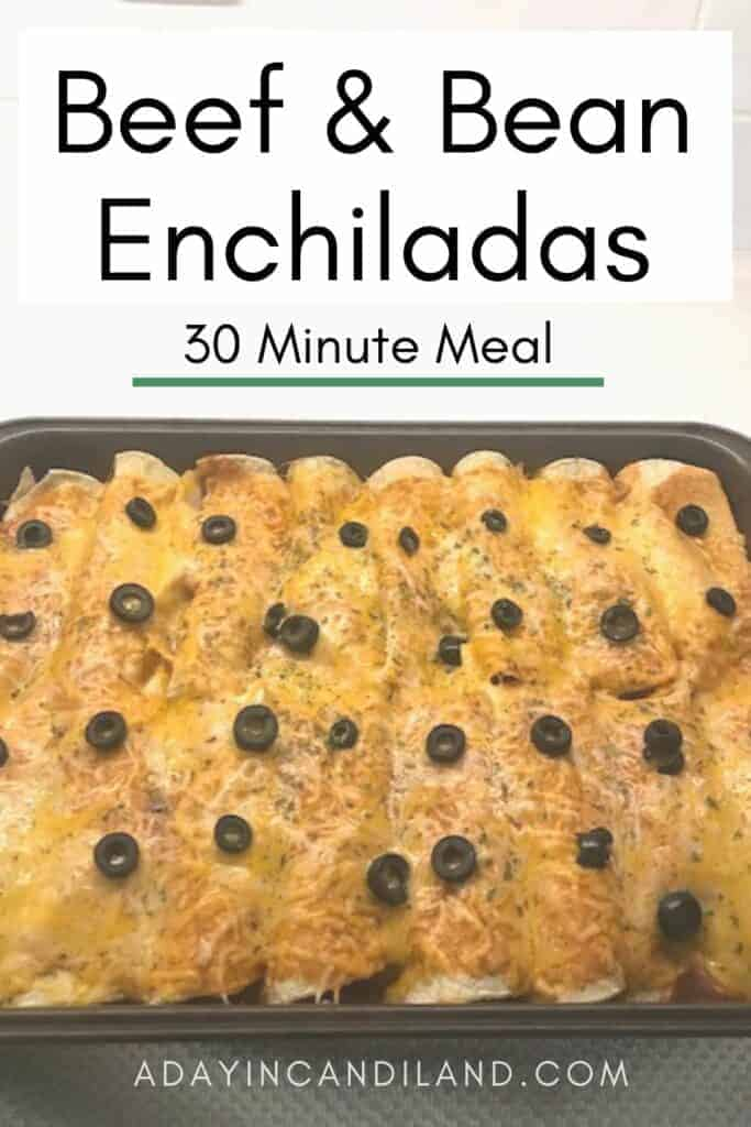Baked Beef Enchiladas