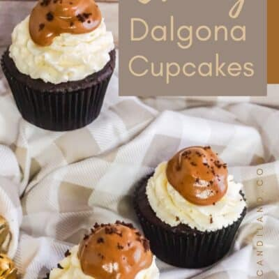 Creamy Dalgona Coffee Cupcakes