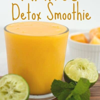 Mango Detox Smoothie Recipe