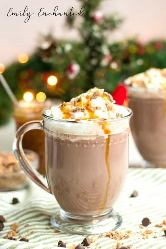 Hot cocoa with rumchata