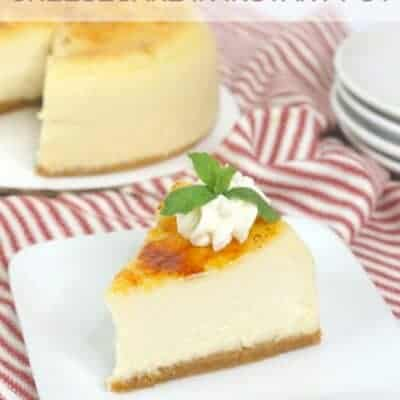 Instant Pot Creme Brulee Cheesecake