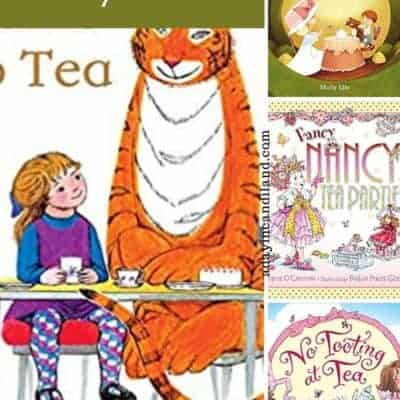 Children's Tea Party Books