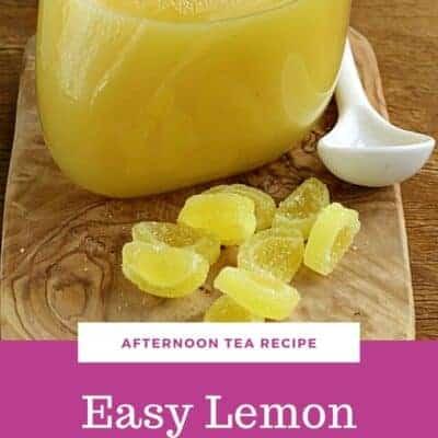 Easy Lemon Curd Recipe with 5 Ingredients