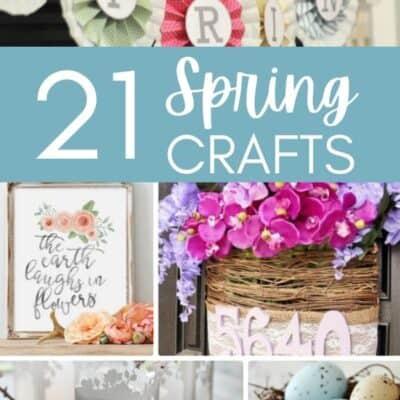 21 DIY Spring Crafts