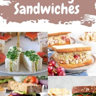 13 Tea Party Sandwiches