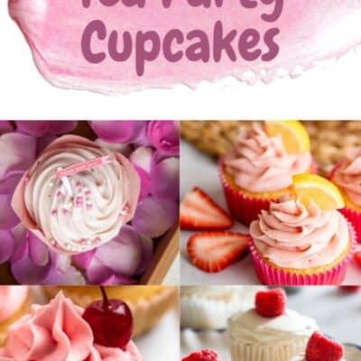 15 Fun Tea Party Cupcakes