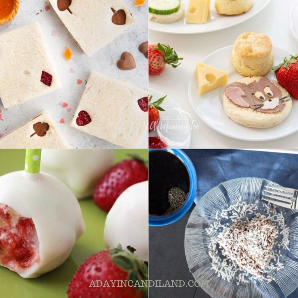 4 tea party theme food options for your next tea party.